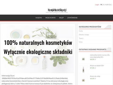 Kosmetykinaturalnesklep.net.pl