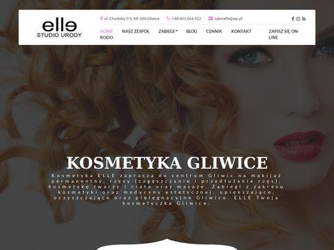 Kosmetykaelle.pl makijaż permanentny Gliwice