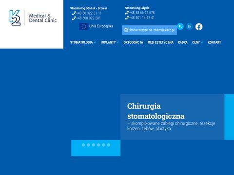K2 Dental Implanty Gdańsk