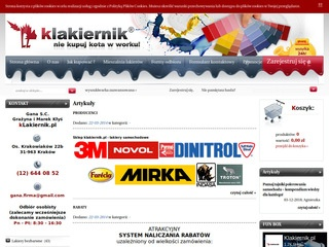 Klakiernik.pl - kleje do szyb