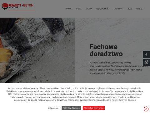 Keramzyt System beton Szczecin