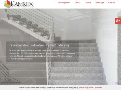 Kamrex kamieniarstwo budowlane