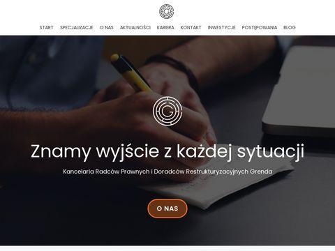 Patrycja Grenda pozwy Poznań