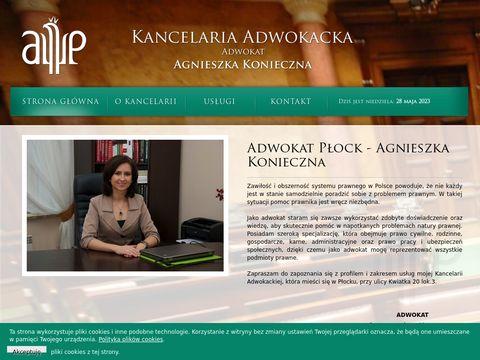 Agnieszka Konieczna - adwokat
