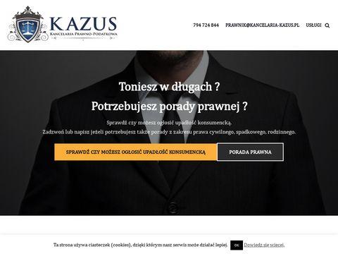 KAZUS kancelaria prawna Ruda Śląska