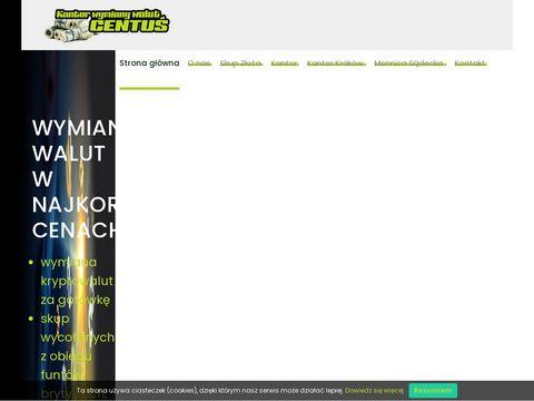Kantorcentus.pl uczciwa wymiana walut