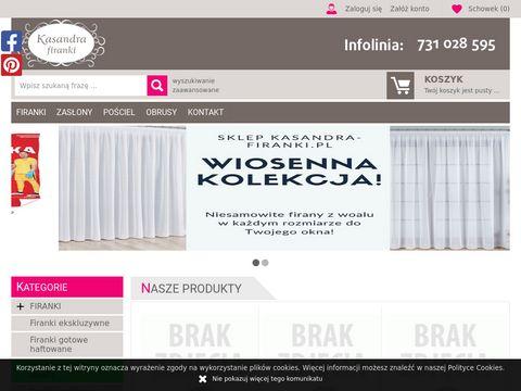 Kasandra-firanki.pl do kuchni