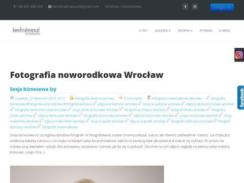 Karolinakrupa.pl fotografia noworodkowa Wrocław