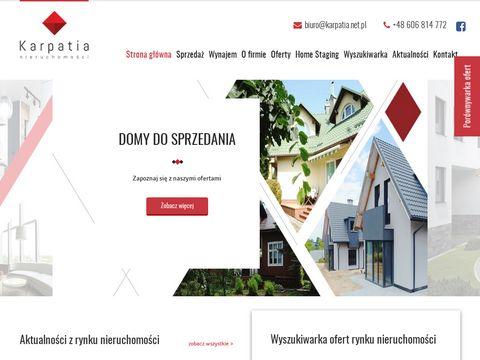 Karpatia.net.pl biuro nieruchomości Rzeszów