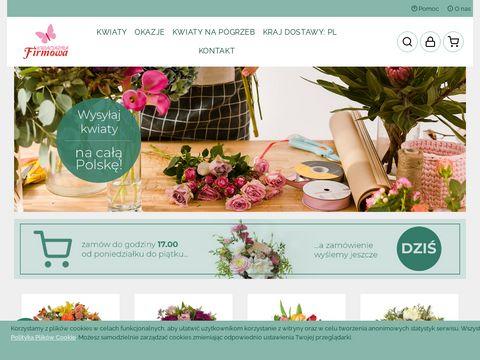 Kwiaciarniafirmowa.com