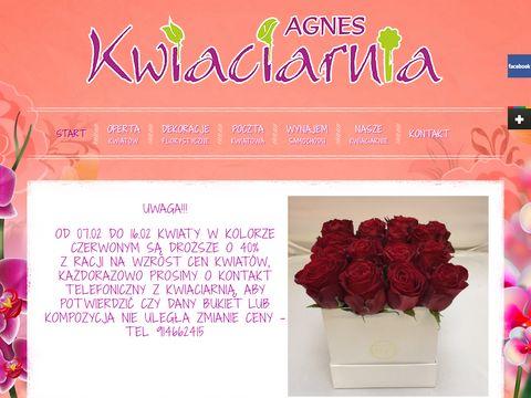 Kwiaciarniaagnes.pl Szczecin