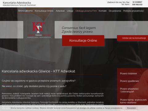 Ktt-adwokat.pl adwokat Gliwice