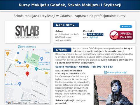Stylab.pl szkoła wizażu w Gdańsku