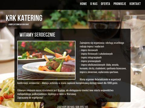 Catering na wesele - Kraków i okolice