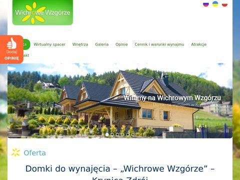 Krynica-domki.net domek w górach do wynajęcia