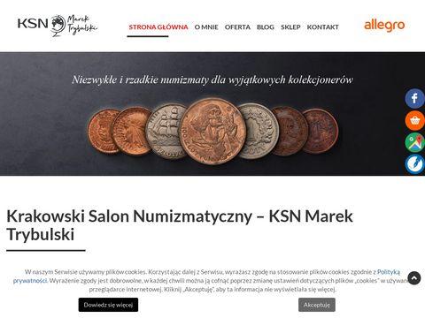 Ksngibon.pl skup monet Kraków