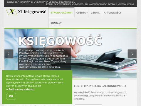 Ksiegowosc-krakow.pl biuro rachunkowe XL