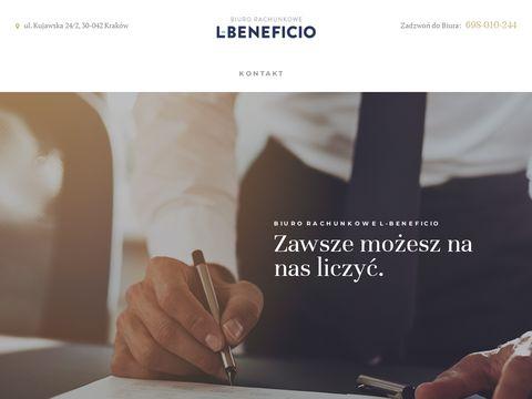 L-beneficio.pl biuro księgowe Kraków