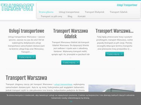 Logistic.warszawa.pl transport