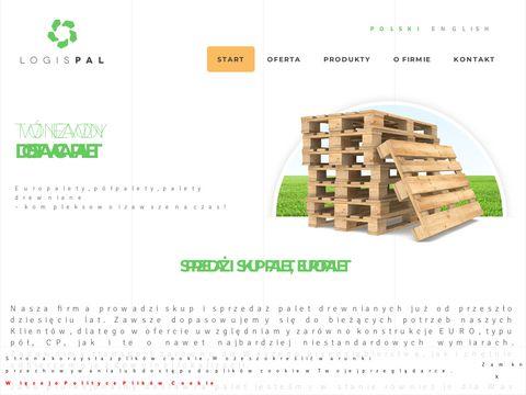 Logispal.pl palety sprzedaż śląsk