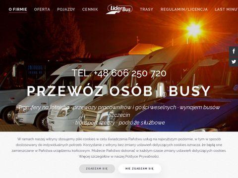 Liderbus.pl przewozy Szczecin