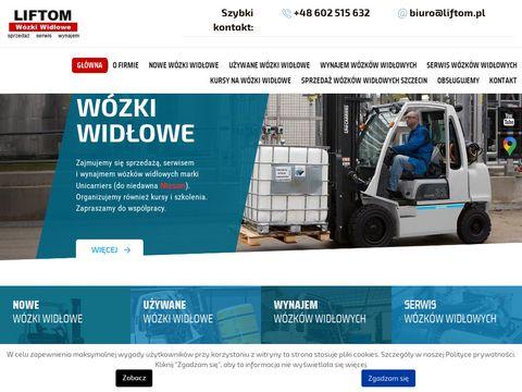 Liftom wózki spalinowe Szczecin