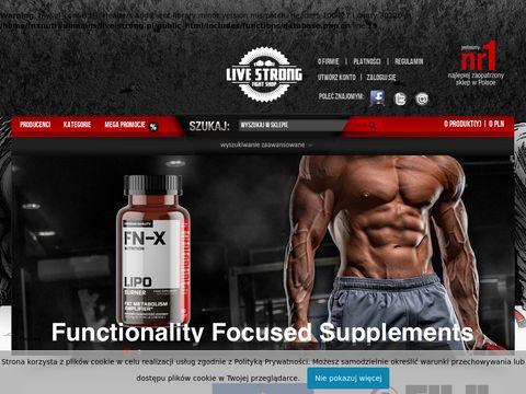 Live-strong.pl rękawice bokserskie