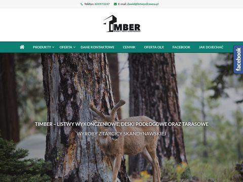 Timber listwy drewniane Oleśnica