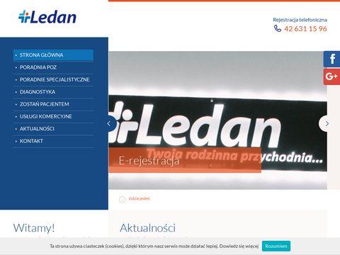 Ledan podstawowa opieka zdrowotna Łódź