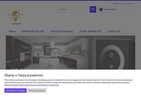 Ledtechnika.sklepna5.pl artykuły LED