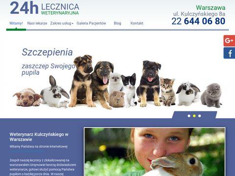 Lecznica-ursynow.waw.pl weterynaryjna 24h