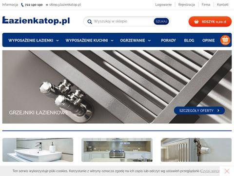 Lazienkatop.pl grzejniki łazienkowe - sklep internetowy