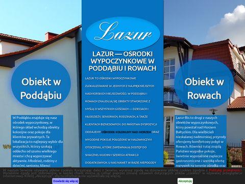 Lazurosrodki.pl zielone szkoły nad morzem