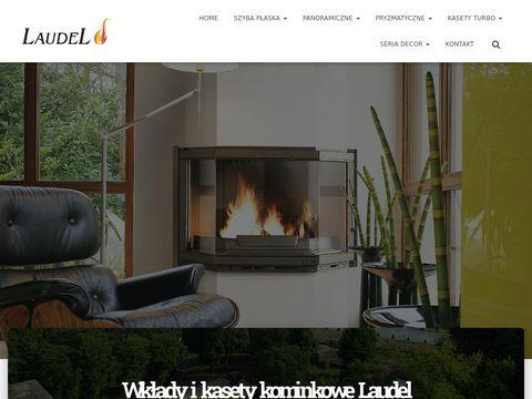 Laudel Budowa kominków