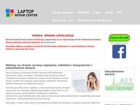 Laptoprepaircenter.pl serwis komputerowy