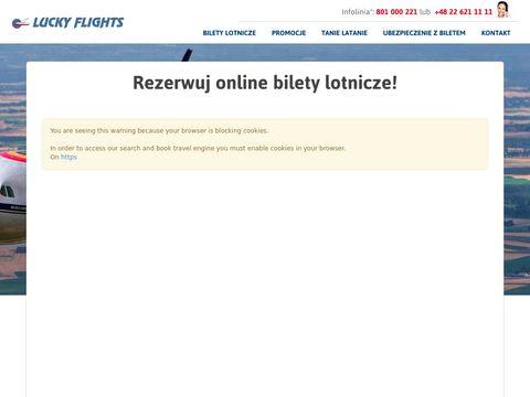Lucky flights - biura podróży