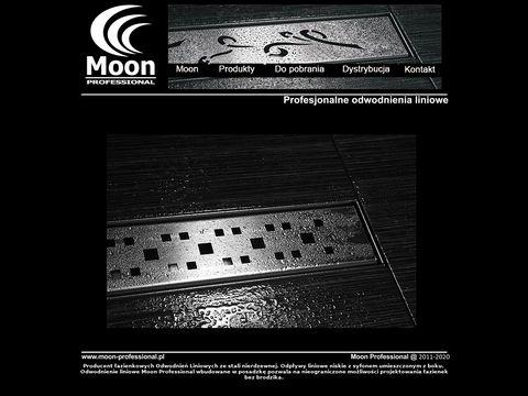 Moon Professional odwodnienia liniowe