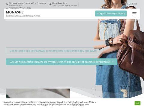 Monashe.pl odzież damska