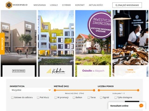 Modernbud - mieszkania Legnica