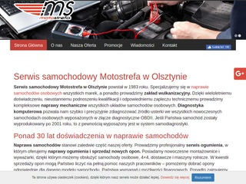 Motostrefa Roman Wyleciał Olsztyn