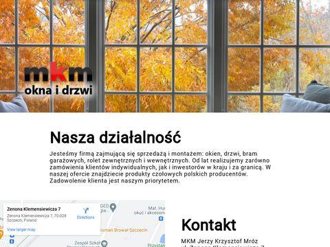MKM okna energooszczędne Szczecin