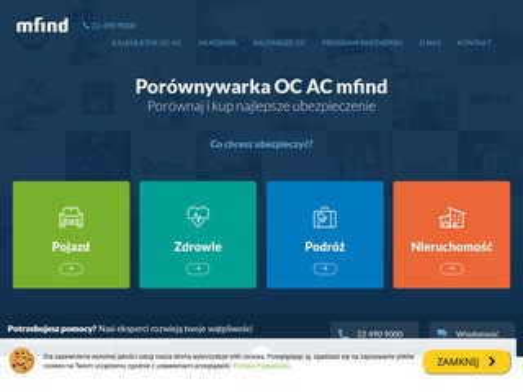Mfind.pl - ubezpieczenie auta
