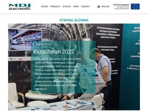 MDJ Electronic waga iskrobezpieczna