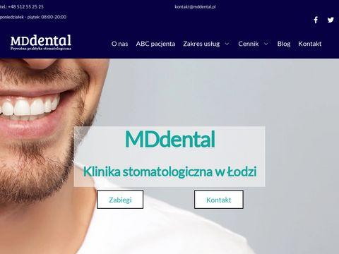 MDdental stomatologia estetyczna łódź
