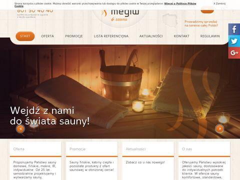 Megiw4sauna.pl producent saun