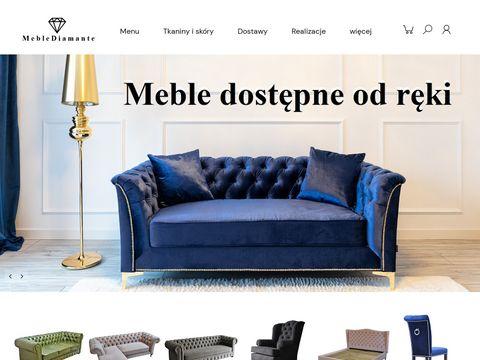 Meblediamante.pl krzesła pikowane