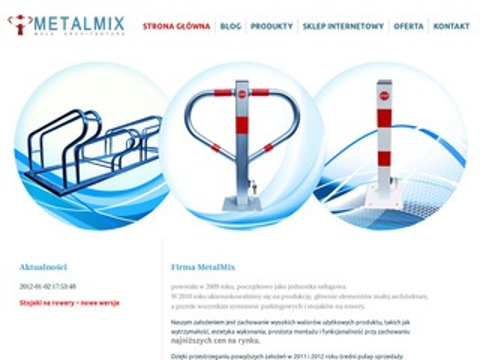 Metalmix.info - słupki parkingowe