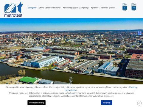 Metrotest laboratorium akredytowane