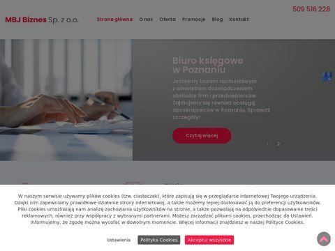 MBJ księgi handlowe Poznań