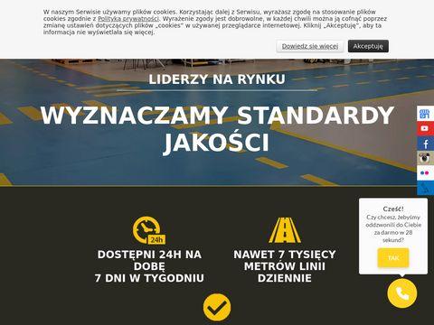 Malowaniepasow.pl oznakowanie
